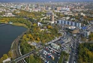 Snezhnoye, Donetsk Oblast (--uapress.info.com)