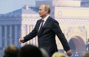 Vladimir Putin (--Mikhail Metzel/TASS)
