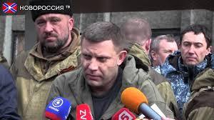 Alexander Zakharchenko, Debaltsevo, February 2015