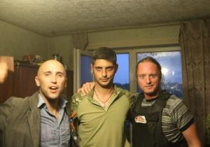 Graham Phillips with Givi and friend