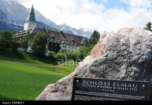 Hotel Schloss Elmau in Krun, Bavaria, site of the 2015 G7 Summit (--alamy.com)