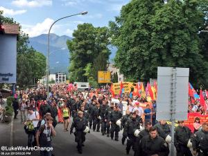 G7 Protest in Garmisch-Partenkirchen, Germany, 2015 (--Luke Rudkowski)