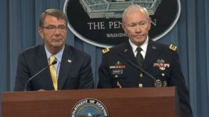Martin Dempsey (Right) Releases 2015 National Military Strategy for the US (--abcnews.go.com)
