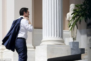 Greek Prime Minister Alexis Tsipras (--dailymail.co.uk)