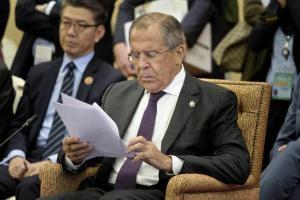 Sergei Lavrov, 22nd Association of Southeast Asian Nations (ASEAN) Regional Forum, Kuala Lumpur, Malaysia, August 6, 2015 (--Reuters//Brendan Smialowski)