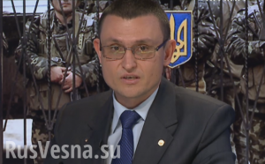 Vladislav Seleznev, Ukraine press spokesman