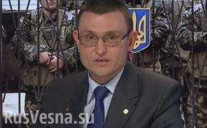 Vladislav Seleznev, Ukraine press spokesman