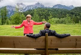 Angela Merkel, 2015 G7 Summit, Krun Germany