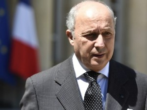 French Foreign Minister Laurent Fabius (--tribune.com.pk)