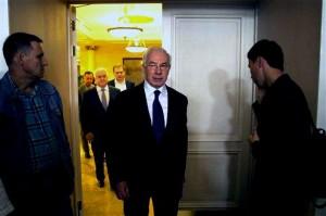 Nikolay Azarav, meeting of Committe for Salvation of Ukraine