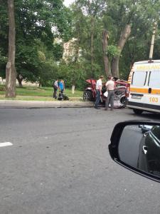 Attack on Elena Filippova, July 14, 2015.