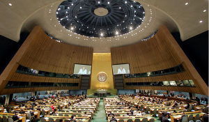 UN General Assembly opens 70th session, September 15, 2015, UN headquarters New York. (--cinup.org)