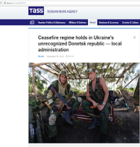"TASS headline: ""unrecognized"""