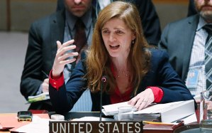 Samantha Power (--.telegraph.co.uk)