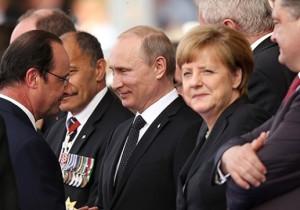 Hollande, Putin, Merkel, Poroshenko (--joinfo.com)