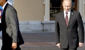 Barack Obama, Vladimir Putin (--telegraph.co.uk)