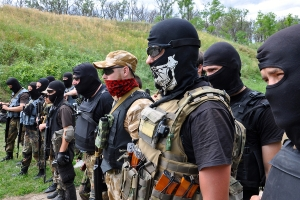 The combat force of about 250 men [Azov Battalion] consists primarily of far-right activists, including around a dozen foreign volunteer fighters. (--Off-Guardian.com)