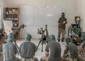Ahrar al-Sham military school (--malcolmxtreme.wordpress)