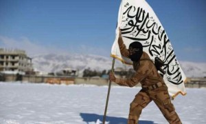 Jaish-al-Islam figher (--AFP/dawn.com)