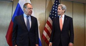 Sergei Lavrov, John Kerry (--Sputnik/AFP/Christof Stache)