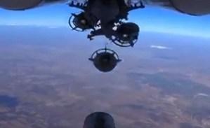 Russian airstrike, Syria, 2015 (--Telegraph)