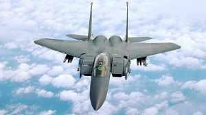 US F-15's bomb ISIS, Libya. (--USAF)