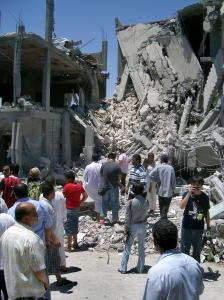 NATO bombing of Tripoli, 2011 (--villageknight.com)