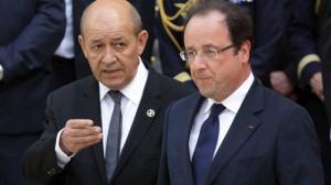 Jean-yves Le Drian, Francois Hollande (--ouest-france.fr)