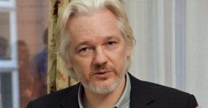 Julian Assange, August 2014 (--Reuters)