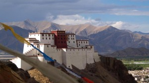 Ganden Monastery, Tibet, destroyed 1959 (--project-himalaya)