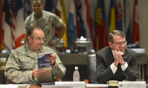 Philip Breedlove, Ashton Carter (-- Glenn Fawcett/SCF)