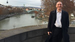 Carter Page in Tbilisi, Georgia (--Bloomberg.com)