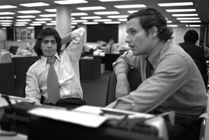 "Reporters Carl Bernstein and Bob Woodward. May 31, 2005 ""Bernstein of Watergate on CIA Control of Media"" https://www.armstrongeconomics.com/uncategorized/bernstein-of-watergate-on-cia-control-of-media/(--AP/)"