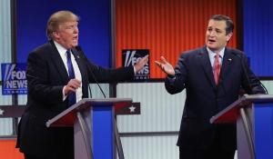 Donald Trump, Ted Cruz, GOP Debate