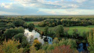 The river Seversky Donets. Donetsk region, Novorossia (--shutterstock)