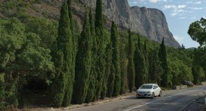 Road in Crimea (--Sputnik News)
