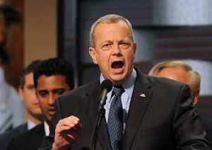 John Allen at DNC (--Paul Hennessy/Polaris/Newscom)