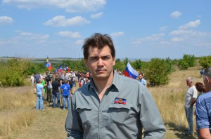 Janus Putkonen in the Donetsk People's Republic, Novorossiya, August 2015