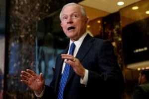 Jeff Sessions (--Mike Segar/Reuters)