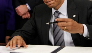 Acting U.S. President signs bill