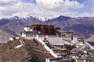 Potala Palace, Lhasa, Tibet - former home of Dalai Lama, now controlled by China. (--Unesco)