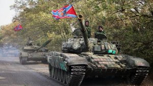 Novorossiya Armed Forces defend Donetsk and Lugansk