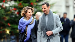Bashar al-Assad and wife Asma
