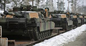 Hundreds Of US Tanks Arrive In Europe for NATO Anti-Russian Buildup, Jan 6, 2017 (--ZeroHedge)