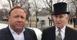 Alex Jones, Roger Stone, Inauguration, January 20, 2017 (--Infowars)