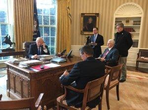 Trump Putin phone call (--Whitehouse)