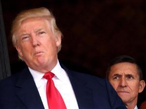 Donald Trump, Michael Flynn (--Reuters)