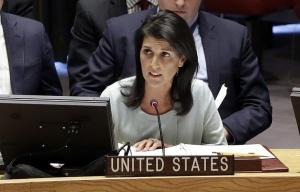 Nikki Haley at UN Security Council