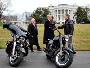 Donald Trump Meets With Harley-Davidson Executives (--AP)